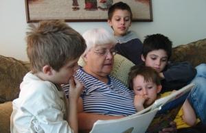 Grandma-reads